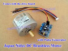 Reversible Japan Nidec DC Brushless Motor Driver Board Pulse Generator PWM Speed