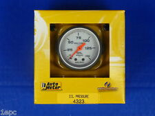 Auto Meter 4323 Ultra Lite Oil Pressure Gauge 0 - 150 PSI Mechanical 2 1/16
