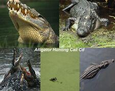 Alligator Calling Cd-Turn On And Hunt- Live Gator Distress Predator Call Cd