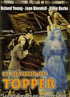 LE RETOUR DE TOPPER / ROLAND YOUNG - JOAN BLONDELL DVD FANTASTIQUE NEUF/CELLO