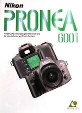 Nikon pronea 600i folleto brochure alemán german - (0730)