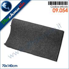 Moquette acustica liscia grigio 70x140cm per interni, subwoofer e pianali