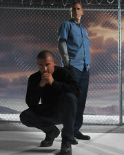 Wentworth Miller & Dominic Purcell (13921) 8x10 Photo