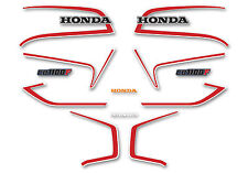 1983 Honda CB1100F Decal Set-  Blue & White USA Model