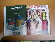 Reliure L'Équipe magazine Janvier-juin 1974 rugby athlétisme basket