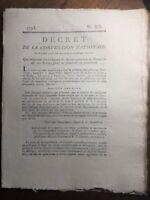 Saint Prix en 1793 Saône et Loire La Chaux Evreux Vernon Eure Marconet Parize