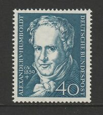 W Germany 1959 Alexander Humboldt SG 1226 MNH
