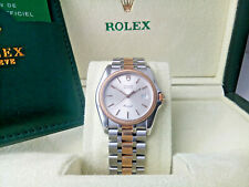 SUPERB GENTS 18K GOLD & S'STEEL ROLEX TUDOR  MONARCH WATCH, 37MM CASE AND BOXED