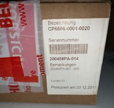 New Beckhoff Touch Panel CP6606-0001-0020, New Factory Sealed.