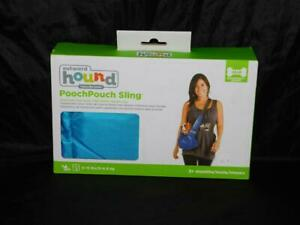 Outward Hound Pooch Pouch Sling Carrier Small Dog Shoulder Bag NEW Blue 0-15 lbs