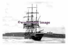 rs0097 - French Sailing Ship - Vincennes aground Sydney 1906 - photograph