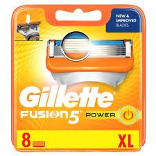 Gillette Fusion Power Razor Blades 8 pack - NEW, SEALED, FREE P&P! Genuine (G2)