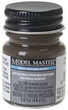 Testors Model Master Flat Railroad Tie Brown 1/2 oz Acrylic Paint 4885 TES4885