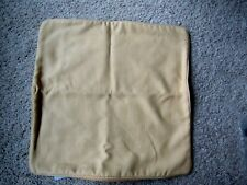 RESTORATION HARDWARE 20x20 Square Yellow Pillow Cover