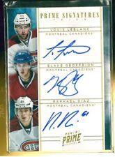 2011-12 Panini Prime Signatures Trios Gold #6 Geoffrion/Leblanc/Diaz 4/5