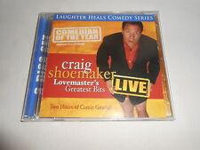 CRAIG SHOEMAKER-LOVEMASTER'S GREATEST BITS LIVE-DOUBLE CD-MINT-OOP-RARE!