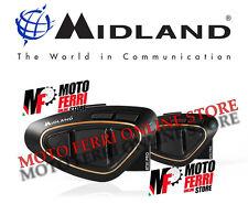 MF0976 - INTERFONO BLUETOOTH MIDLAND BTX1 PRO TWIN PACK CON RADIO FM CASCO