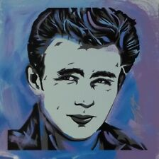 FRAMED James Dean and Marilyn Monroe by Ed Capeau 10x8 Acrylic Painting Print