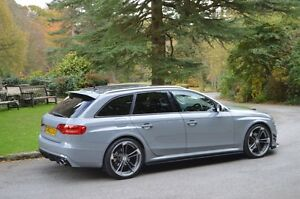 Audi RS4 Style Roof Spoiler for the Audi A4 Avant Estate