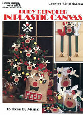 Rudy Reindeer ~ Ornaments Door Tissue Box Cover & More plastic canvas patterns