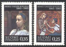 Finlandia 1965 un galo-Kallela/artista/Arte/Cuadros/artistas/personas 2v Set (s333p)