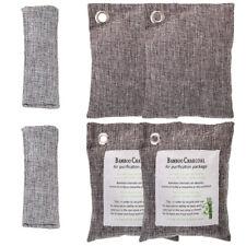 6 Bags Air Purifying Purifier Nature Fresh Charcoal Bamboo Mold Freshener Bag