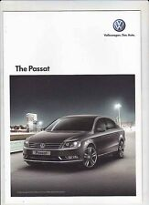 2012 VOLKSWAGEN PASSAT 6 page Malaysian Brochure in English