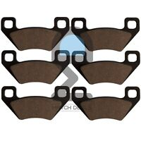 FRONT REAR BRAKE PADS FOR POLARIS HAWKEYE 300 4X4 2X4 2006