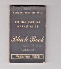 1965 Black Book Official Used Car Market Guide Pennsylvania Edition Chevelle Cad