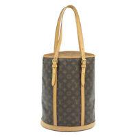LOUIS VUITTON Monogram Bucket GM Shoulder Bag M42236 LV Auth 14725