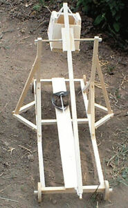 Wooden Model Trebuchet Medieval Siege Engine Kit ~ By Sunward ~ NEW