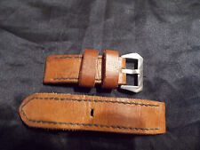 24mm   Handmade quality leather watch strap, Panerai #1