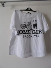 Marks and Spencer Girls' Graphic 100% Cotton T-Shirts & Tops (2-16 Years)
