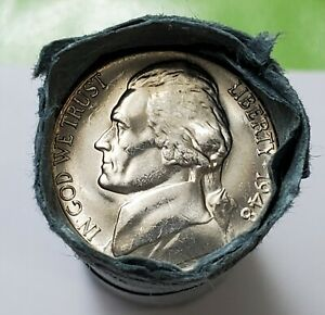 Business UnCirculated Roll (40) 1948 S Jefferson Nickels