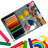 12PC DOUGH SET PLAY KIDS ART CRAFTS SHAPES GIFT TOY MODELLING TUBS CHILDRENS NEW