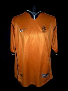 Holland 1998-00 Home Vintage Football Shirt - Good Condition