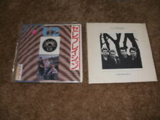 "U2 Rare Vinyl 7"" Ps Singles Lot Of 2 Japan A Celebration Uk Pride In The Name"