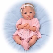 "Ashton Drake Claire Silicone Lifelike Baby Doll 18"" by Linda Murray 0302592001"