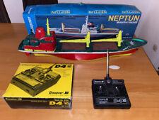Graupner Neptun Frachter Motorfrachtschiff m. Fernbedienung RC Boot Bausatz 2144