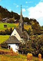 Bad Kleinkirchheim , St. Kathrein-Kirche , Ansichtskarte , 1978 gelaufen