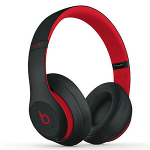 Beats By Dr Dre Studio3 Wireless Headphones - Black Red Brand New and Sealed