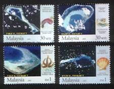 2005 MALAYSIA SOUTH CHINA SEA ISLANDS & REEFS (4v) MNH