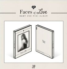 K-POP SUZY 2nd Mini Album [Faces of Love] CD+Photobook+Postcard+Photocard+Lyrics