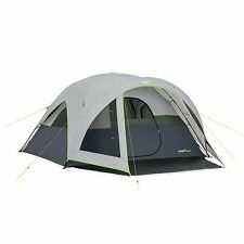 New 6 Person 10'x9' Instant Dome Tent CampValley Camping Gear Pre-Attached Poles