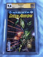 Green Arrow #12 (Feb 2017, DC) CGC SS 9.6 Signed by Neal Adams - Variant Cover