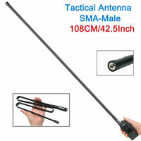 AR-152A ABBREE SMA-Male CS Tactical Antenna For Yaesu Kenwood TYT 2 way Radio
