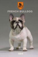 "Mr.Z 004 Animal Simulation French Bulldog For 12"" Figure Scene 1:6 Scale"