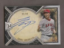 2018 Topps Museum Collection Shohei Ohtani RC Rookie AUTO 86/99 Angels