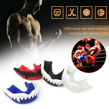 1x MMA Sports Boxing Mouth Guard Silicone Mouthpiece Teeth Protector Mouthguard