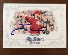 IAN KENNEDY 2013 ALLEN GINTERS TOPPS AUTOGRAPHED SIGNED AUTO BASEBALL CARD 31